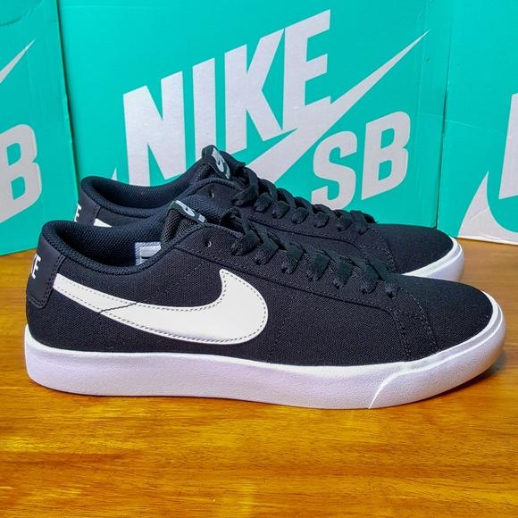 c157ee126461f Nike SB Blazer Vapor TXT 902663-010 Black Skate NWT